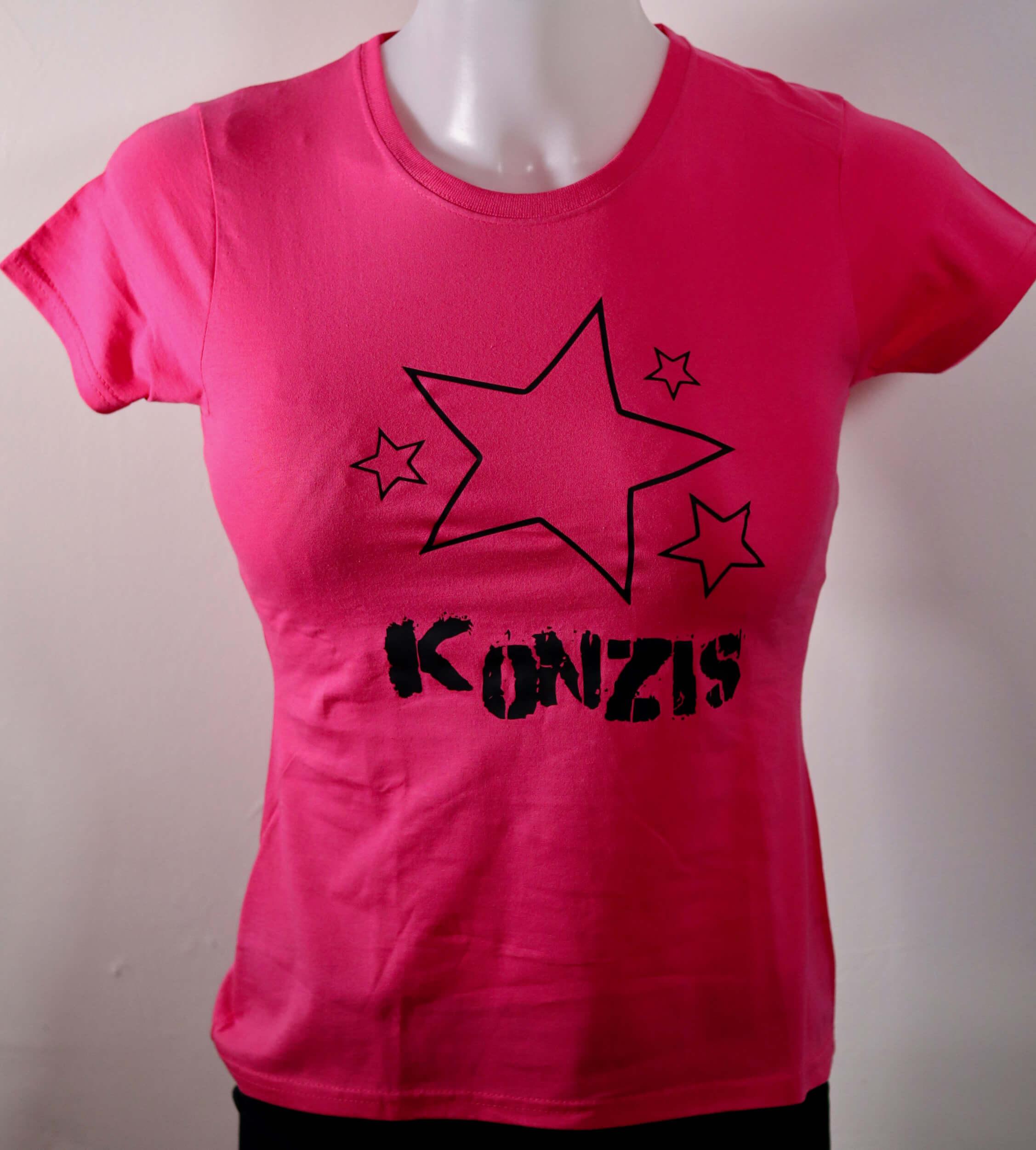 Girlie Shirt - Sterne