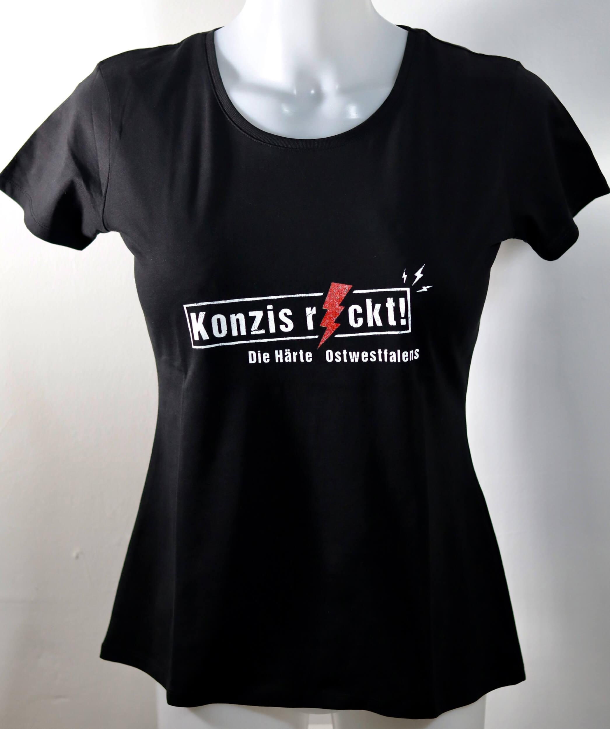 Girlie-Shirt - Konzis rockt